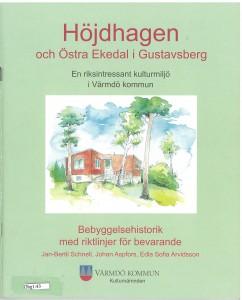 Höjdhagen och Östra Ekedal Bebyggelsehistorisk med riktlinjer för bevarande_Page_01